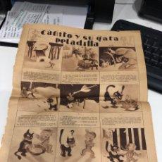 Coleccionismo: CANITO Y SU GATA PELADILLA. Lote 189649428