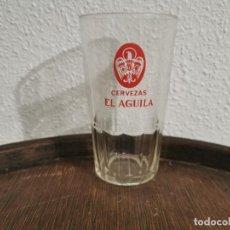 Coleccionismo: ANTIGUO VASO CERVEZA EL ÁGUILA. Lote 189766980