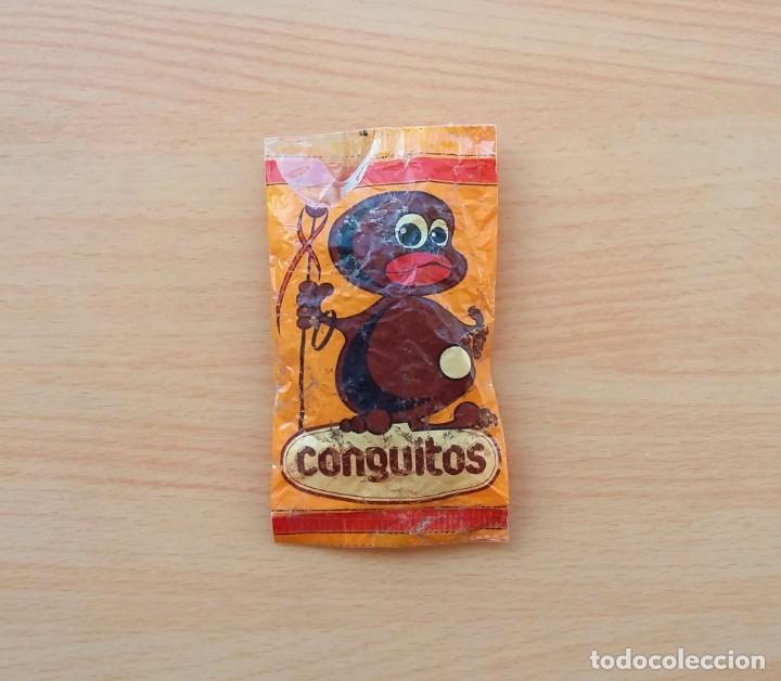 BOLSA DE CONGUITOS CHOCOLATE REPLICA ORIGINAL 1985 (Coleccionismo - Varios)