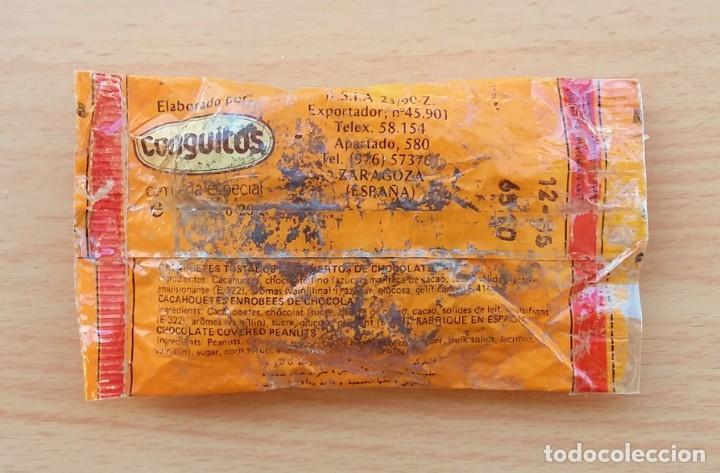 Coleccionismo: BOLSA DE CONGUITOS CHOCOLATE REPLICA ORIGINAL 1985 - Foto 12 - 190067816
