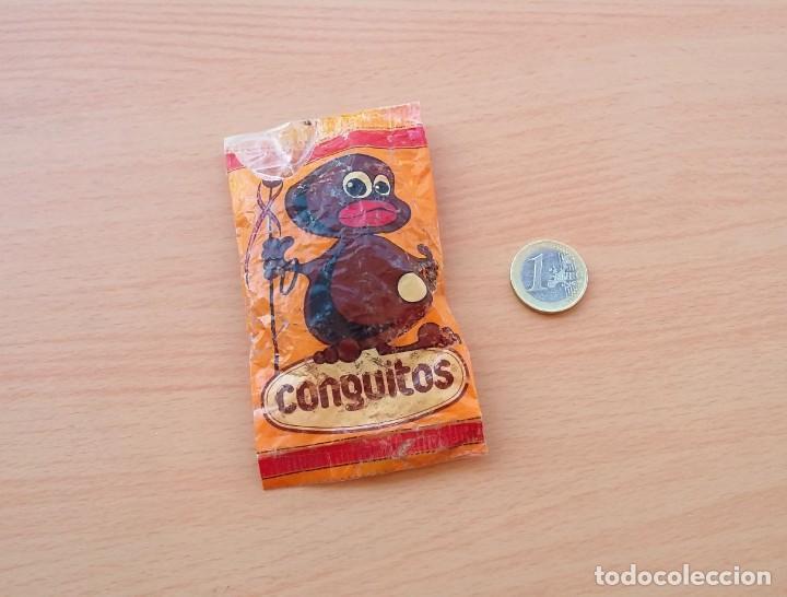 Coleccionismo: BOLSA DE CONGUITOS CHOCOLATE REPLICA ORIGINAL 1985 - Foto 13 - 190067816