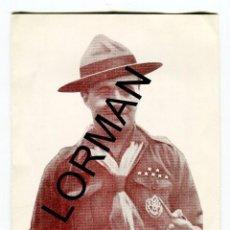 Coleccionismo: TORTOSA JOSE A. MONSERRAT ESPUNY JEFE SCOUT DE TORTOSA 1904-1966 MISA MIG CAMI FORMATO DIPTICO 1966. Lote 190169937