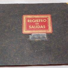 Coleccionismo: LIBRO DE CONTABILIDAD REGISTRO DE SALIDAS DE CORRESPONDENCIA AÑOS 30/40. Lote 190464433