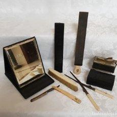 Coleccionismo: BONITO LOTE ANTIGUO DE BARBERIA,PELUQUERIA . Lote 190474448