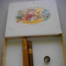 Coleccionismo: CAJA DE PUROS HABANOS LA GLORIA CUBANA (( 10 NATURALES-TUBOLAR)) PRE /EMBARGO. Lote 190587216