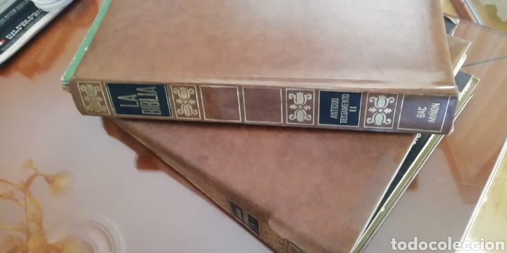 Coleccionismo: la biblia. Colección 48 fasciculos. 1970. Buen estado - Foto 2 - 190758402