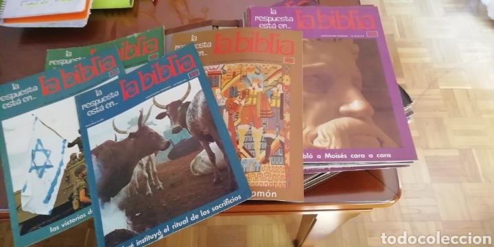 Coleccionismo: la biblia. Colección 48 fasciculos. 1970. Buen estado - Foto 3 - 190758402