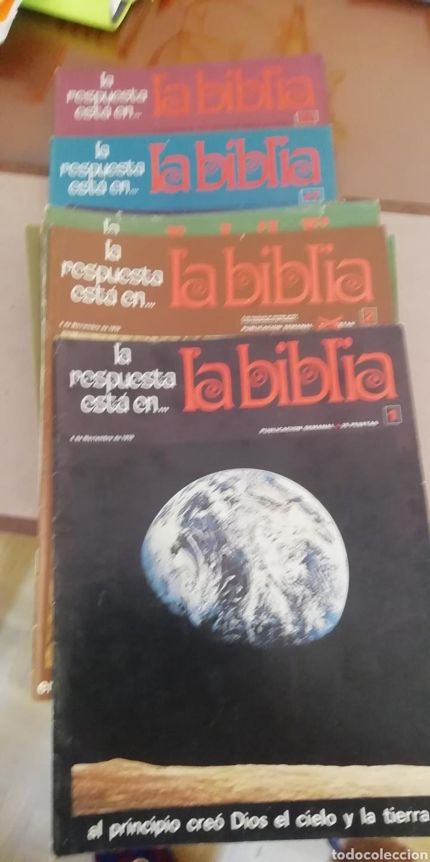 LA BIBLIA. COLECCIÓN 48 FASCICULOS. 1970. BUEN ESTADO (Coleccionismo - Varios)