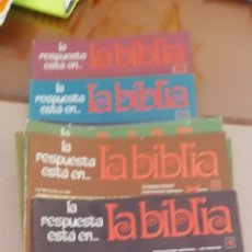 Coleccionismo: LA BIBLIA. COLECCIÓN 48 FASCICULOS. 1970. BUEN ESTADO. Lote 190758402