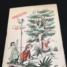 Coleccionismo: NADALA PARA LAS NAVIDADES DE 1957 DE AYMÁ, SOC. ANÓNIMA EDITORA, CON EL TITULO VIAJES A LA LUNA.. Lote 190855343