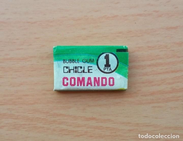Coleccionismo: CHICLE CHICLES COMANDO 1 PTA 1 PESETA 1965 1966 1967 1960s - Foto 9 - 190869912