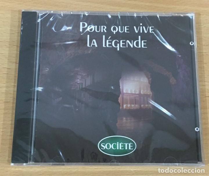 CD FOTOGRÁFICO - POUR QUE VIVE LA LÉGENDE - QUESOS SOCIÉTÉ (2002). PRECINTADO (Coleccionismo - Varios)