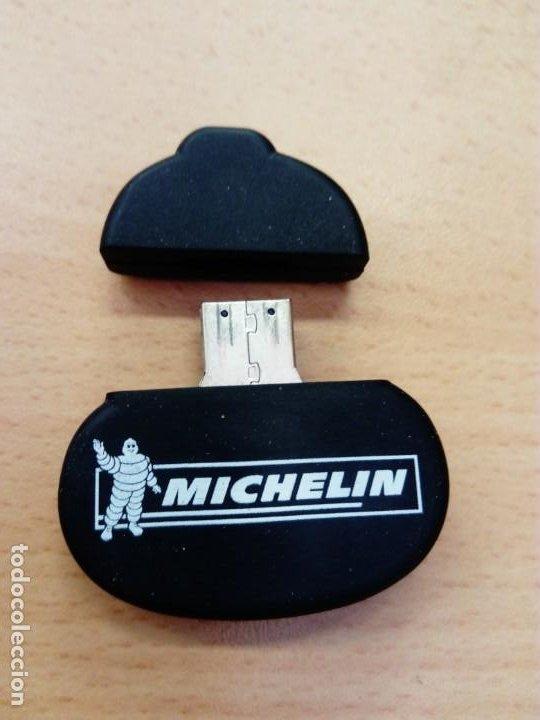 Coleccionismo: Memoria USB Figura Michelín - Foto 4 - 191072375