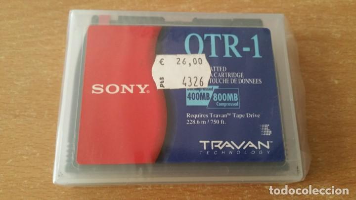 CARTUCHO SONY TRAVAN 800 MB PRECINTADO (Coleccionismo - Varios)