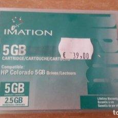 Coleccionismo: CARTUCHO IMATION 5 GB HP COLORADO PRECINTADO. Lote 191078072