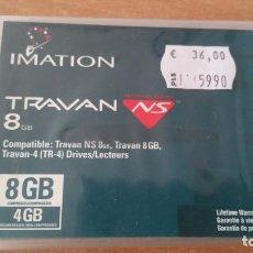 Coleccionismo: CARTUCHO TRAVAN 8GB TRAVAN NS 4 PRECINTADO. Lote 191078146