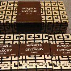 Colecionismo: 3 JABONES MONSIEUR DE GIVENCHY. Lote 191214136