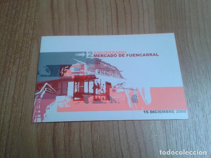 FLYER -- MERCADO FUENCARRAL -- 2º ANIVERS. -- ZETA, MARKUS JAZZ, MELL ALLEN DJ -- MADRID, 15/12/2000 (Coleccionismo - Laminas, Programas y Otros Documentos)