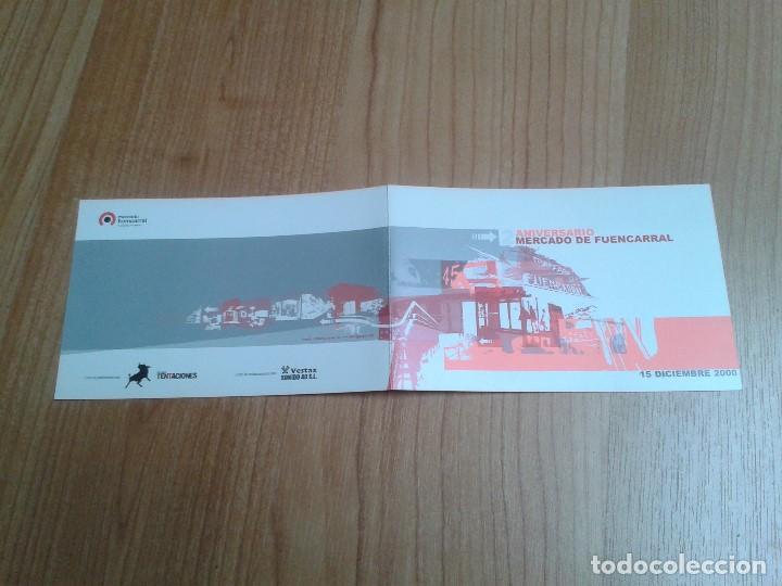 Coleccionismo: Flyer -- Mercado Fuencarral -- 2º Anivers. -- Zeta, Markus Jazz, Mell Allen Dj -- Madrid, 15/12/2000 - Foto 5 - 191273567