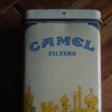 Coleccionismo: PITILLERA CAMEL METÁLICA - AÑOS 80. Lote 191331601