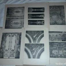 Coleccionismo: ANTIGUO LIBRO 60 LAMINAS DIE DEKORATIVE ORNAMENTIK DES KÖNIGL SCHLOSSES HERRENCHIEMSEE 42X31.5CM. Lote 191390102