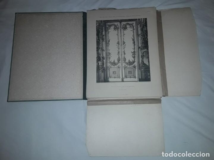 Coleccionismo: Antiguo libro 60 Laminas Die Dekorative Ornamentik Des Königl Schlosses Herrenchiemsee 42x31.5cm - Foto 3 - 191390102