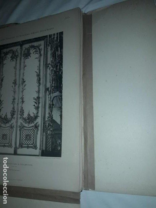 Coleccionismo: Antiguo libro 60 Laminas Die Dekorative Ornamentik Des Königl Schlosses Herrenchiemsee 42x31.5cm - Foto 5 - 191390102