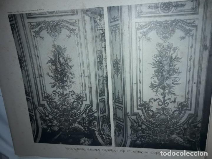 Coleccionismo: Antiguo libro 60 Laminas Die Dekorative Ornamentik Des Königl Schlosses Herrenchiemsee 42x31.5cm - Foto 16 - 191390102