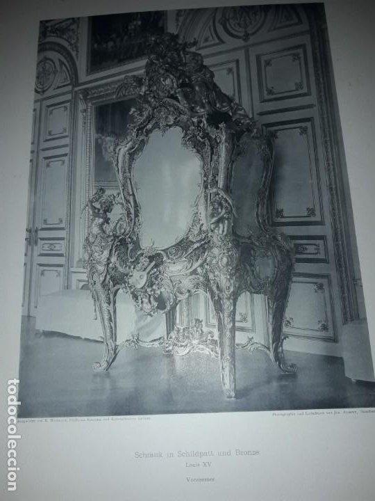 Coleccionismo: Antiguo libro 60 Laminas Die Dekorative Ornamentik Des Königl Schlosses Herrenchiemsee 42x31.5cm - Foto 19 - 191390102