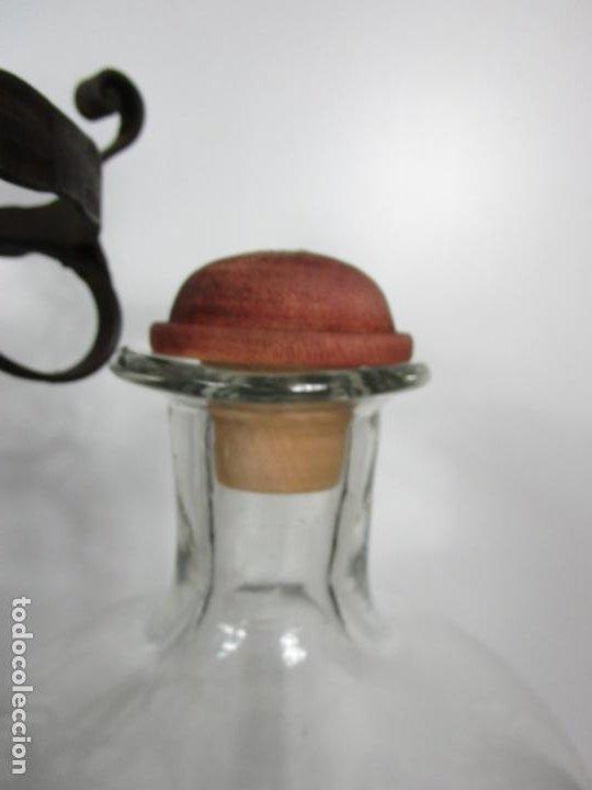 Coleccionismo: Perfumes Anglada, Barcelona - Precioso Soporte Modernista - Botellas Cristal con Grifo - Años 20 - Foto 28 - 191483196