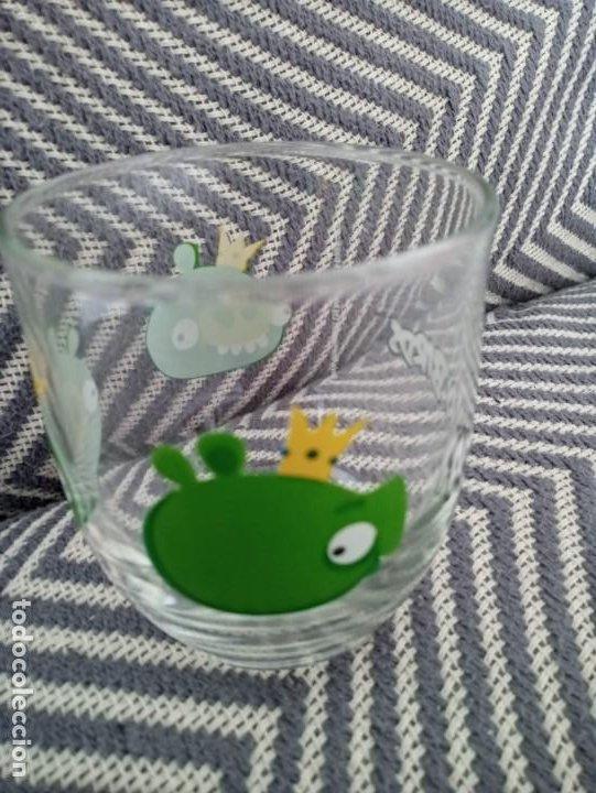 Coleccionismo: Vaso de cristal Angry Birds Rovio Original 2013 - Foto 2 - 191596748