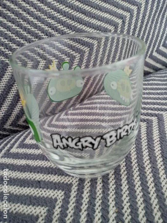 Coleccionismo: Vaso de cristal Angry Birds Rovio Original 2013 - Foto 3 - 191596748