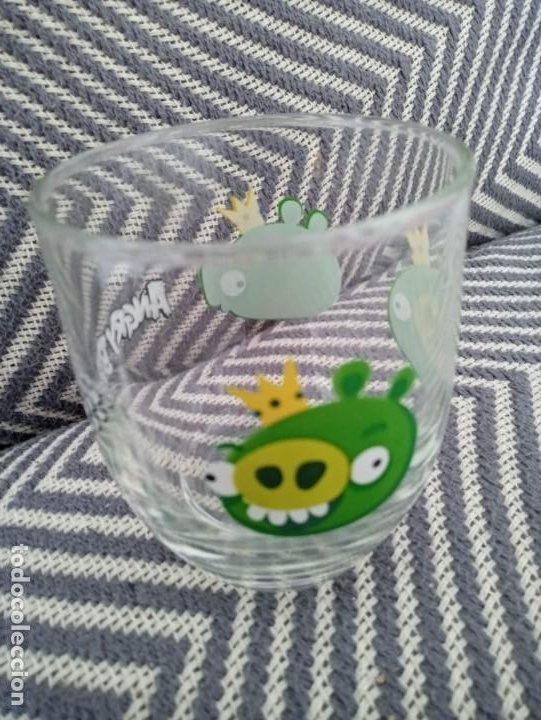 Coleccionismo: Vaso de cristal Angry Birds Rovio Original 2013 - Foto 4 - 191596748