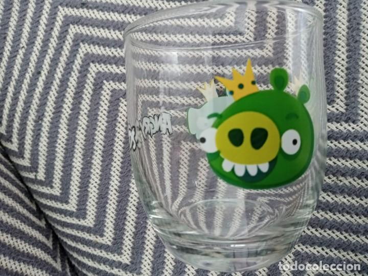Coleccionismo: Vaso de cristal Angry Birds Rovio Original 2013 - Foto 5 - 191596748