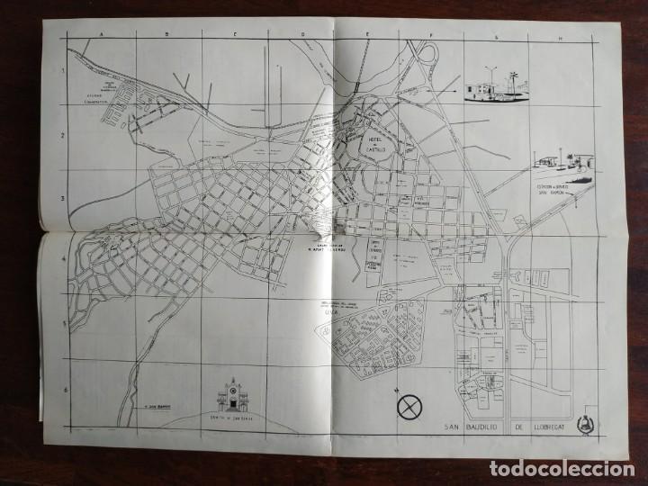 Coleccionismo: Programa de mano de la XX edición de la Fira de la Purissima en Sant Boi de Llobregat 1966 - Foto 7 - 191930268