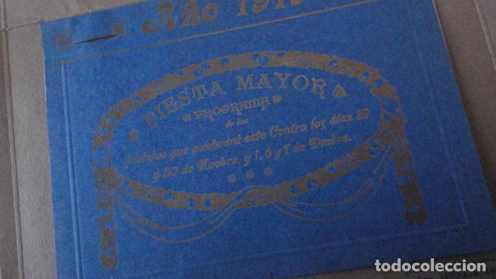 Coleccionismo: PROGRAMA.CENTRO LUZ ANDRESENSE.FIESTA MAYOR.ORQUESTA PRINCIPAL BARCELONINA.1919 SAN ANDRES PALOMAR? - Foto 3 - 191934321