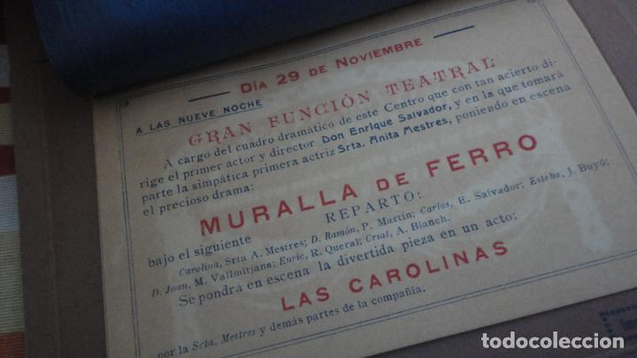 Coleccionismo: PROGRAMA.CENTRO LUZ ANDRESENSE.FIESTA MAYOR.ORQUESTA PRINCIPAL BARCELONINA.1919 SAN ANDRES PALOMAR? - Foto 4 - 191934321