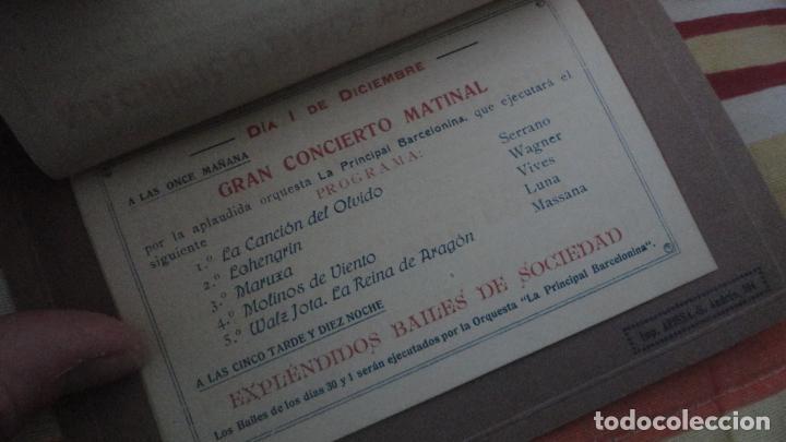 Coleccionismo: PROGRAMA.CENTRO LUZ ANDRESENSE.FIESTA MAYOR.ORQUESTA PRINCIPAL BARCELONINA.1919 SAN ANDRES PALOMAR? - Foto 6 - 191934321