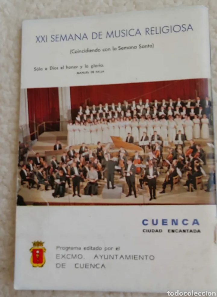 Coleccionismo: Semana Santa Cuenca 1982 - Foto 2 - 192677733