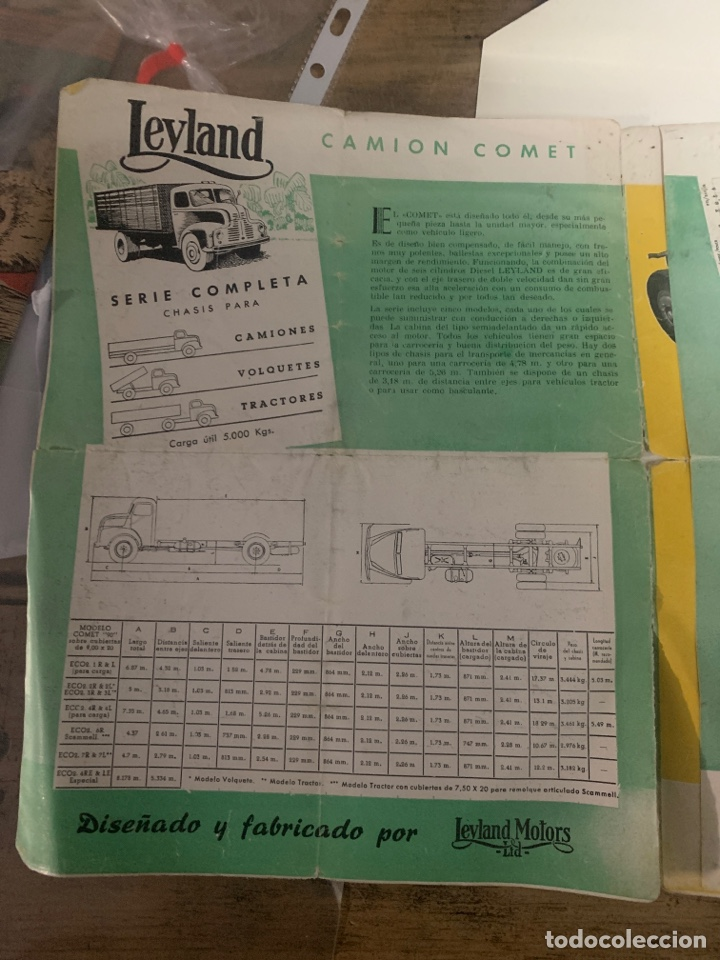 Coleccionismo: Catálogo de Camion comet - Foto 2 - 192740961