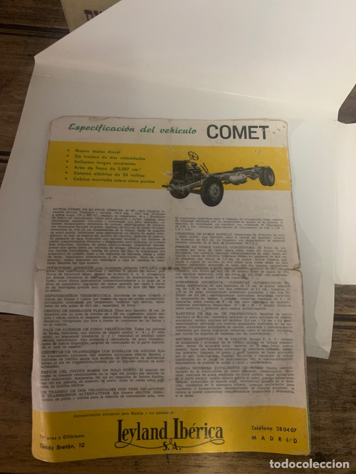 Coleccionismo: Catálogo de Camion comet - Foto 5 - 192740961