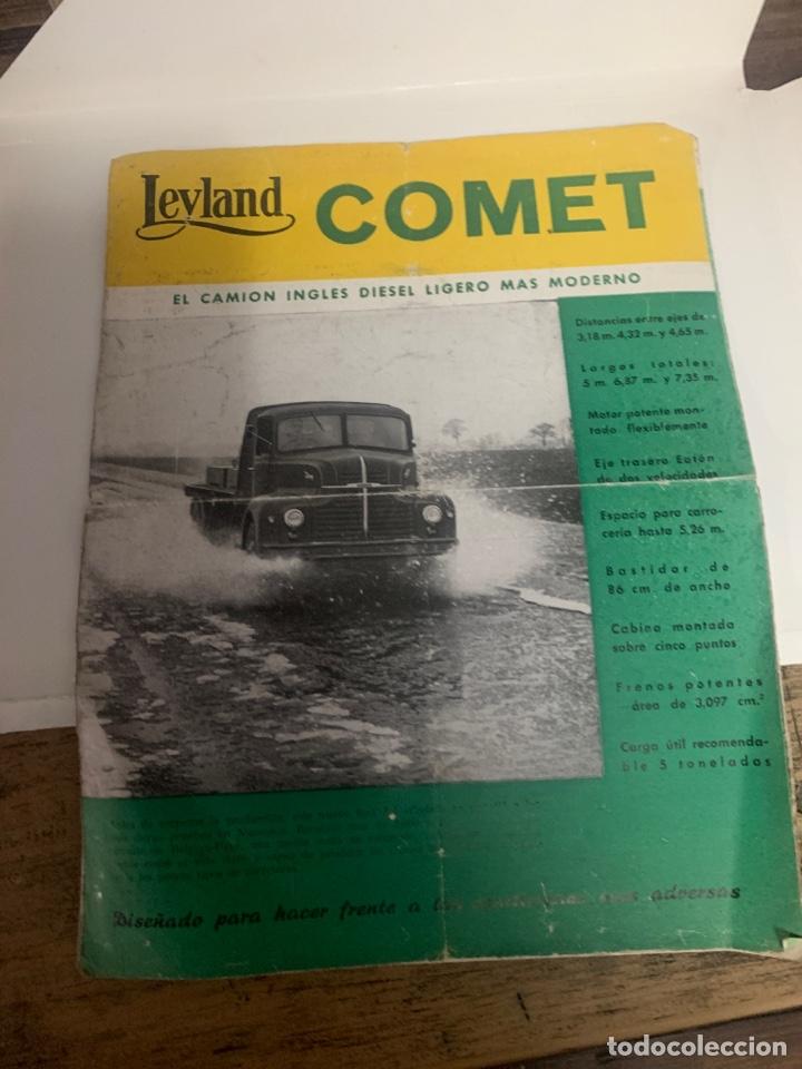 CATÁLOGO DE CAMION COMET (Coleccionismo - Varios)