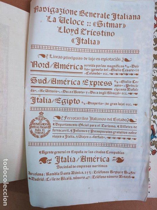 Coleccionismo: Libreto DE LITOGRAFIA EXCELENTE, ÓPERA - EL BARBERO DE SEVILLA - de ROSSINI, 1923 - Foto 2 - 193230588