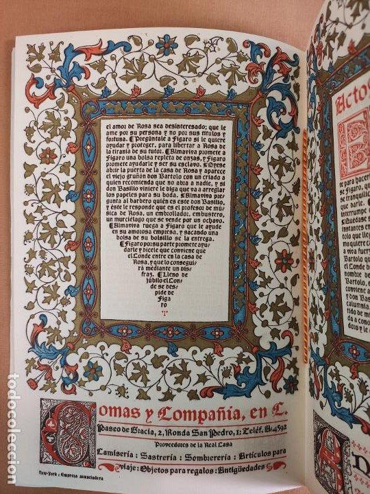 Coleccionismo: Libreto DE LITOGRAFIA EXCELENTE, ÓPERA - EL BARBERO DE SEVILLA - de ROSSINI, 1923 - Foto 6 - 193230588