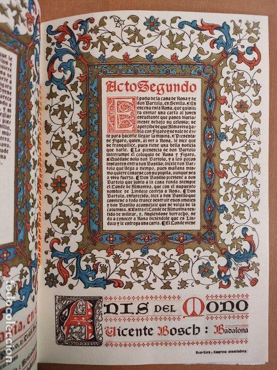 Coleccionismo: Libreto DE LITOGRAFIA EXCELENTE, ÓPERA - EL BARBERO DE SEVILLA - de ROSSINI, 1923 - Foto 7 - 193230588