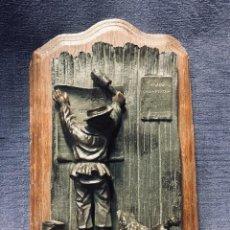 Coleccionismo: TAXE AVIS CHIENS PERDUS PERRO PERDIDO NIÑO PEGA CARTEL PIROGENO RASCADOR CUBO PIVOTA S XIX FIN . Lote 193258958