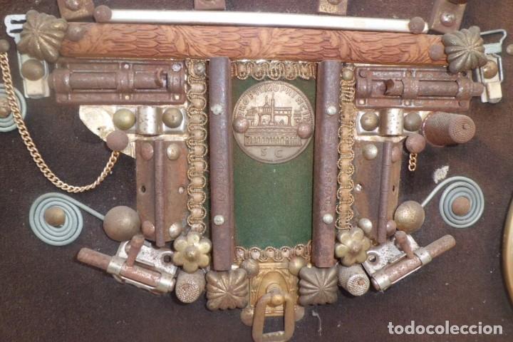Coleccionismo: 2 CUADROS DE COCHES ANTIGUOS HECHOS A MANO - Foto 8 - 193275577