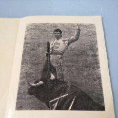 Coleccionismo: LA VERDAD Y SUEÑOS DE PACO BAUTISTA. MATADOR DE TOROS. 1975. LINARES. JAÉN. Lote 193701486