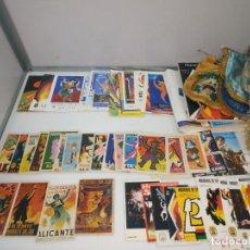 Coleccionismo: LOTE PROGRAMAS MANO FIESTAS HOGUERAS LLIBRETS ALICANTE ESTADO PERFECTO MUCHA PUBLICIDAD BANDERINES. Lote 193850930
