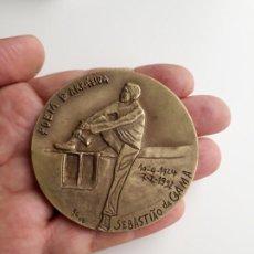 Coleccionismo: MEDALLÓN DE BRONCE. SEBASTIAO DA GAMA.. Lote 194137216